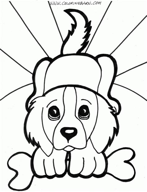 simple coloring pages of dogs puppy coloring pages pictures photos images clipart