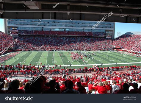 lincoln nebraska memorial stadium memorial stadium lincoln ne stock photo 4506568