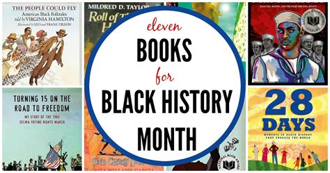 black history picture books 11 chapter books for black history month
