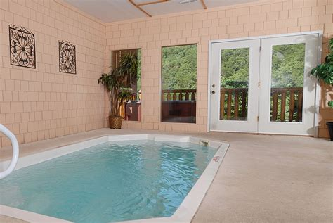 Pigeon Forge Cabin Rentals With Indoor Pool by Cabins With Indoor Pools Tn