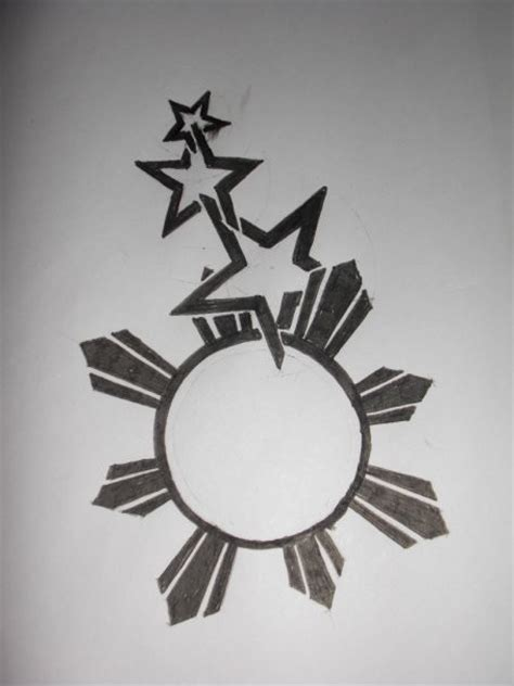 three stars and a sun tattoo designs 3 1 sun by radly sera on deviantart
