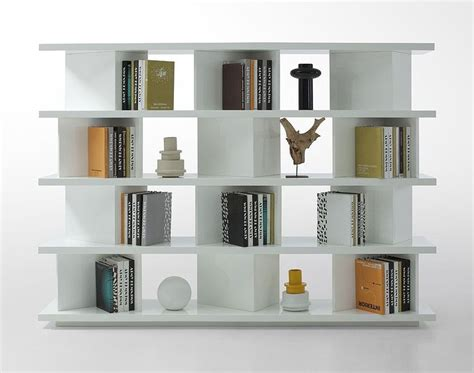 Contemporary Bookcase Living Room Gt Gt Modern Shelves Modern White Bookcase
