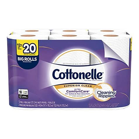 cottonelle ultra comfortcare toilet paper soft