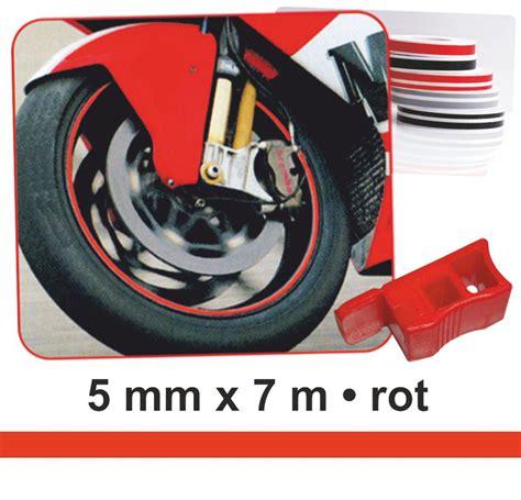 Motorrad Felgen Zierstreifen by Zierstreifen Wheel Stripes F 252 R Motorradfelgen Rot 5 Mm X 7