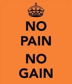 No Pains No Gains Essay by Th Ng C S Kh C Bi T Nh Th N O Adanih