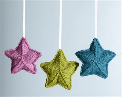 star pattern in knitting pure wool entwine christmas stars knitting bee