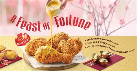 kfc new year promotion kfc launches new cny menu items fortune chicken