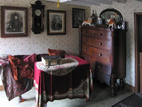 Country Farm House by Interior Of Late 19th Century Terraced 169 Rudi Winter Geograph Britain And Ireland