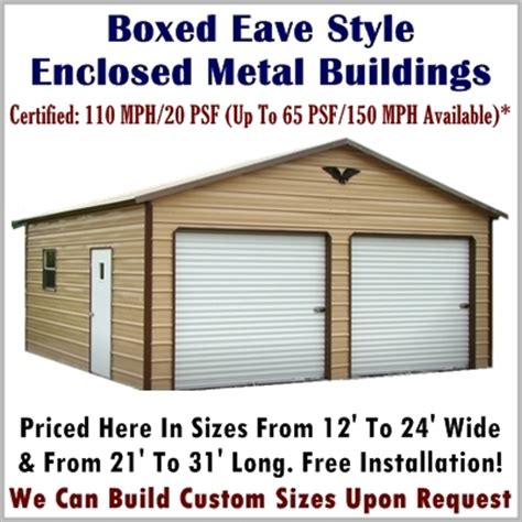 Metal Building Kits Prices Fully Enclosed Metal Buildings Available Monday Friday