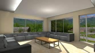 sajid designs living room 3d model interior design 3ds max