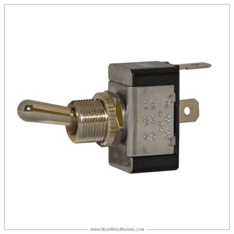 Switch Toggle momantery toggle switch spst on new wire marine
