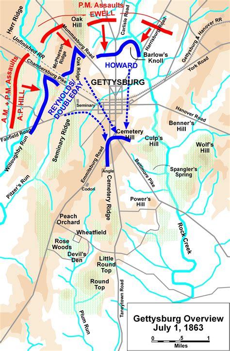 gettysburg map file gettysburg battle map day1 jpg