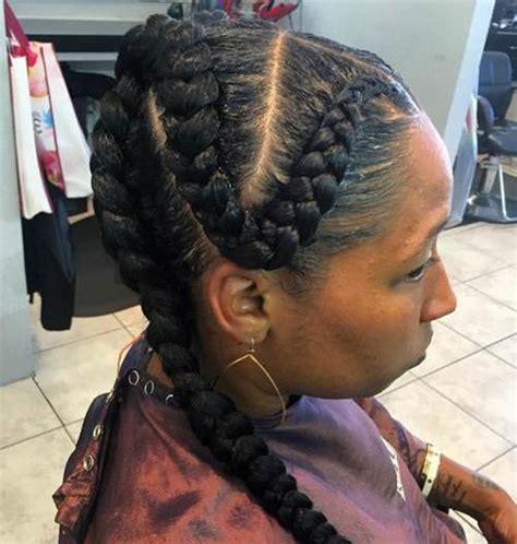 large cornrow braid hairstyles plan big braids hairstyles cornrows hairstyles