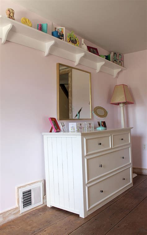 country girl home decorating my shelves 3 diy projects for a little girls bedroom makeover
