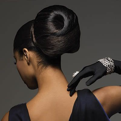 african american buns and pin ups updo hairstyles for african american women updo relaxed