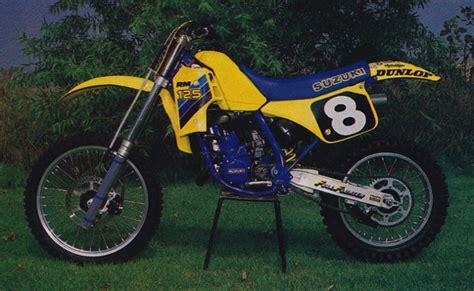 1986 Suzuki Rm 125 Gp S Classic Steel 115 1986 Rm125 Pulpmx