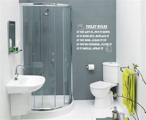 wall transfers for bathroom toilet rules bathroom art wall quote stickers wall decals