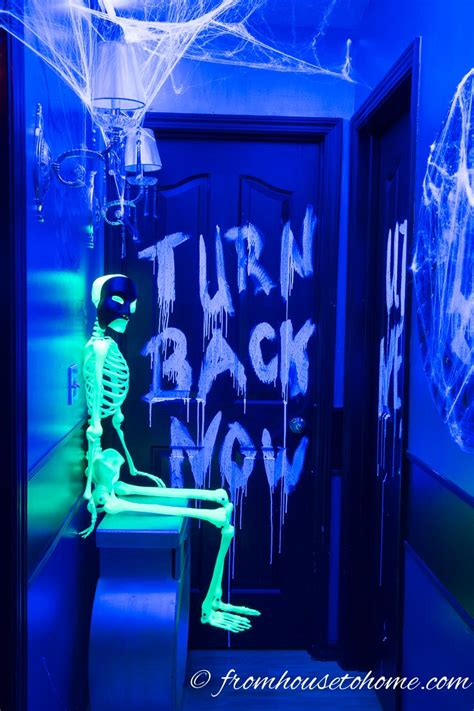 Green Paint In Kitchen - 9 ways to create glow in the dark halloween decorations