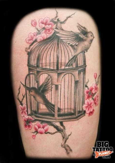 caged bird tattoo 17 best images about bird cage tattoos on