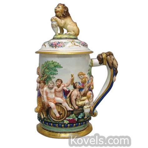 Capodimonte Vase Antique Capo Di Monte Pottery Amp Porcelain Price Guide