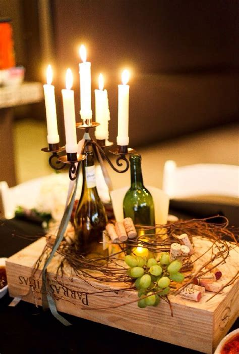 wine themed centerpieces best 25 wine themed decor ideas on
