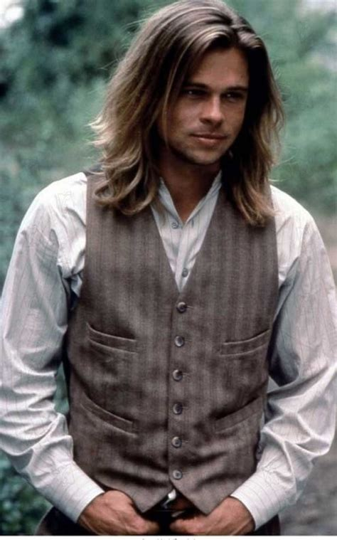 brad pitt with long hair vs short hair the many and varied hair styles of brad pitt hairstyle