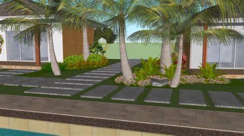cadlao resort restaurant landscape design video walkthrough youtube
