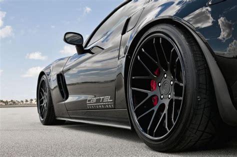 Corvette C7 Grand Sport Tieferlegung by Chevrolet Corvette Z06 Mit 360 Forged Concave Mesh 8
