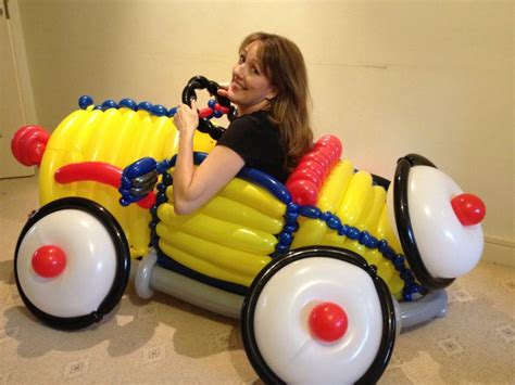 13 best images about balloon cars on pinterest birthday balloons cars and race cars