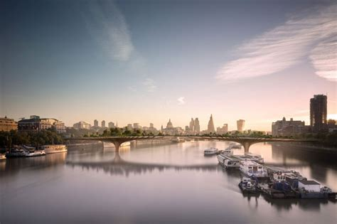 designboom london thomas heatherwick discloses new renderings of garden bridge