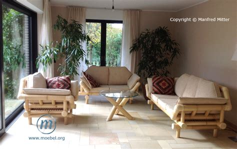 wohnzimmer sitzmöbel bambusm 246 bel m 246 bel aus bambus