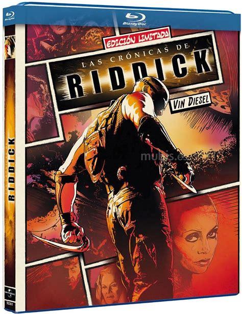Dvd Original Sale Riddick car 225 tula de las cr 243 nicas de riddick edici 243 n c 243 mic