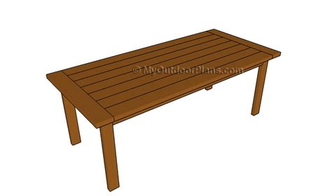 wood kitchen table plans free easy small woodworking