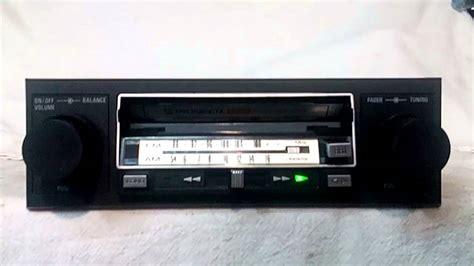 cassette car stereo vintage pioneer kp 4500 am fm cassette car stereo