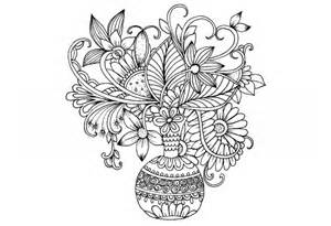free printable coloring pages for adults advanced flowers advanced flower coloring pages 5 kidspressmagazine