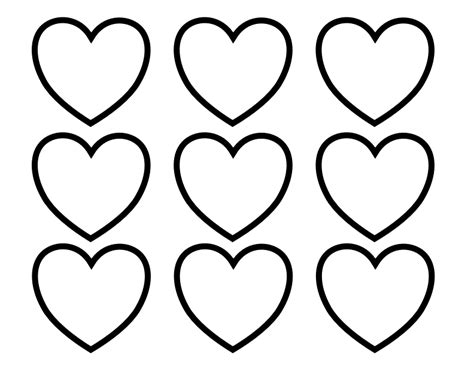 file valentines day hearts alphabet blank3 at coloring