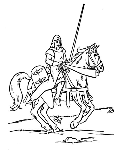 coloring book pages knights free coloring pages of knights