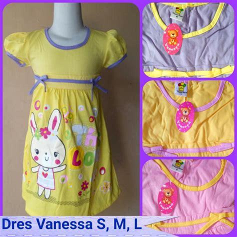 Baju Import Baju Murah A30061 S M L Dress grosir baju anak import tanah abang baju3500