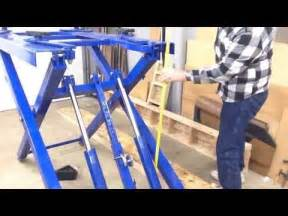 Electric Car Harbor Freight Harbor Freight Scissor Lift 91315 Review Wrap Up Yourepeat