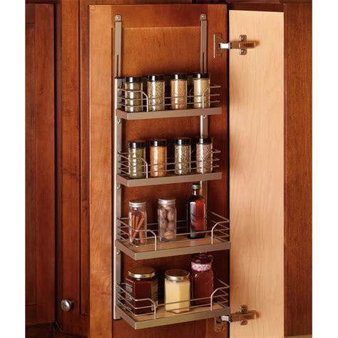 Inside Door Spice Rack hafele kessebohmer spice rack for mounting on cabinet door or inside on cabinet side