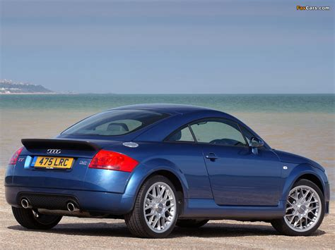 Photos of Audi TT 3.2 quattro Coupe UK spec (8N) 2003?06 (1024x768)