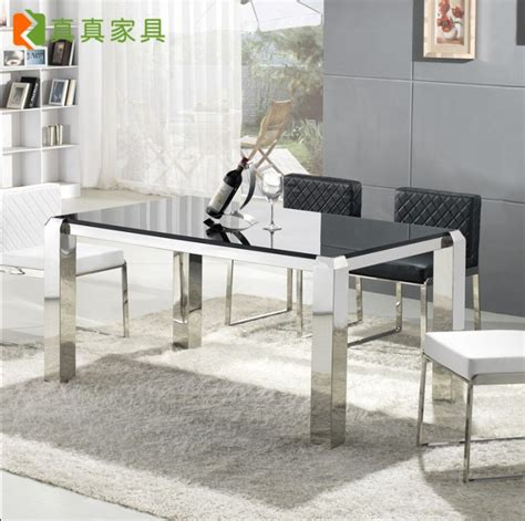 Promo Meja Lipat Mobil Travel Dining Table barbara dinette table and dining table combination modern minimalist stainless steel tempered