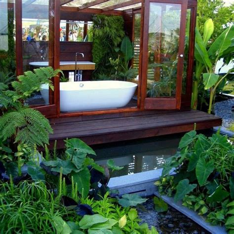 Garden Bathroom Ideas Luxury Garden Bathroom Burgbad Sanctuary Modern Outdoors