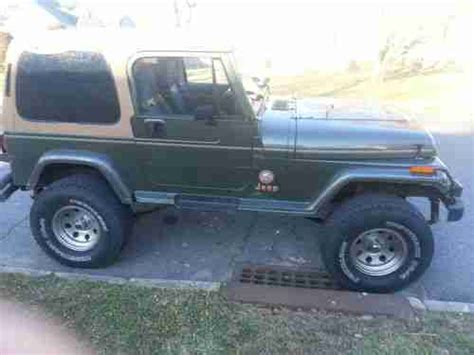 92 Jeep Wrangler For Sale Buy Used 92 Jeep Wrangler 5sd 6 Cyl Ac 2 Tops Only