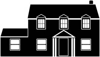 Black And White Home Black And White House Clip Art Www Galleryhip Com The