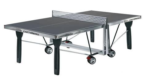cornilleau proline 540 rollaway outdoor table tennis 125417