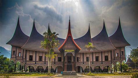 houses gadang minangkabau traditional houses indonesia