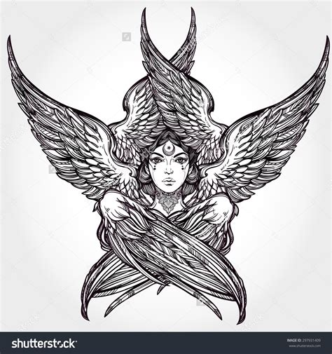 seraphim tattoo six winged alchemy religion