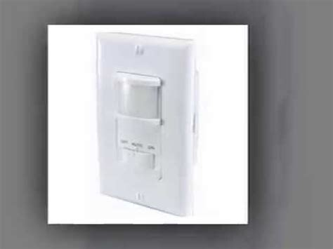 different types of light switches different types of motion light sensor switch youtube