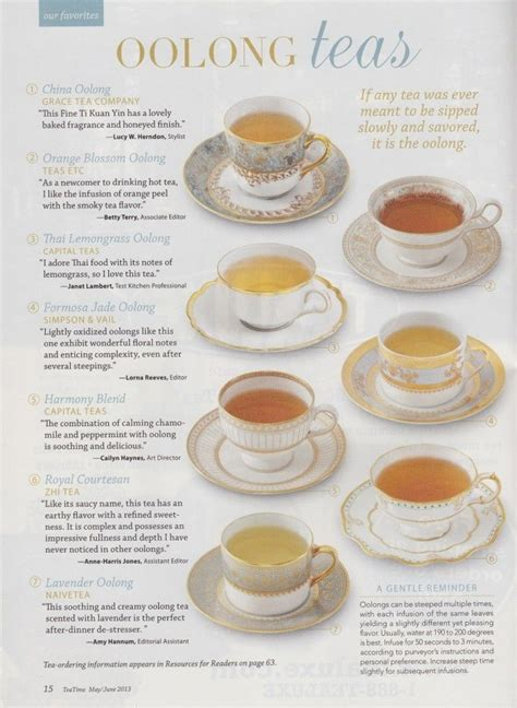 Different Types Of Detox Tea by 14 Best Benefits And Uses Of Oolong Tea For Skin Hair And